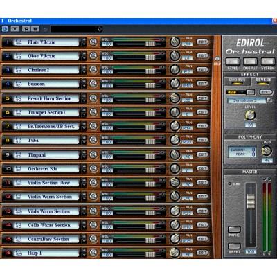 Edirol HQ Orchestral VSTi v1.03-ادیرول ارکسترال